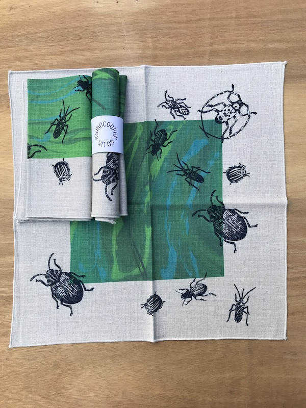 BEETLES NAPKIN